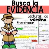 Lectura de comprensión - Reading Comprehension in Spanish