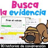 Lectura de comprensión BUNDLE Reading Comprehension in Spanish