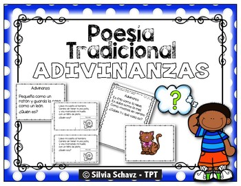 Lectura de comprensión con adivinanzas - en español