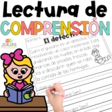 Lectura de comprensión en español - Reading comprehension in Spanish
