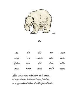 Lectura de palabras y oraciones