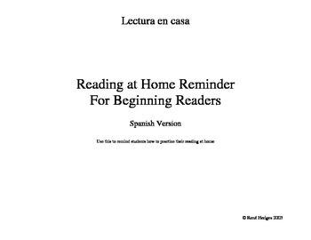 Lectura en Casa-Un recuerdo