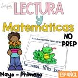 Lectura, escritura y matemáticas mayo PRIMERO NO PREP