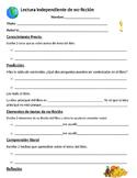Lectura independiente de no-ficción/ Spanish Non-fiction Practice