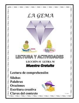 Lectura y Actividades Muestra Gratis