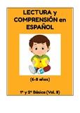 Lectura y Comprensión en Español para 6-8 años (1º y 2º Básica)