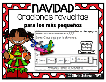 Oraciones revueltas para los más pequeños - Navidad