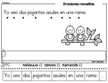 Oraciones revueltas para los más pequeños - Otoño
