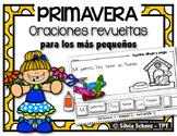 Oraciones revueltas para los más pequeños - Primavera