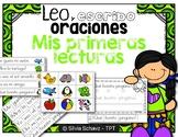 Leo y escribo oraciones - Mis primeras lecturas