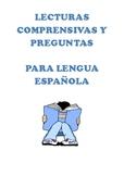 Lecturas comprensivas y preguntas para Español