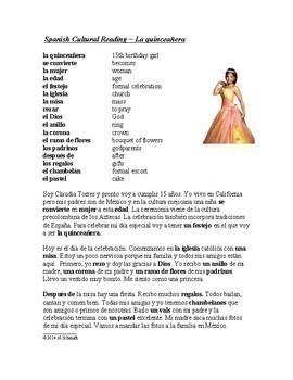 Lecturas culturales - Spanish Cultural Reading Bundle (Version 2) - 5 Readings!