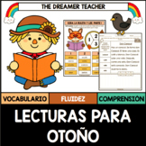 Spanish Reading Comprehension and Fluency. Vocabulary. Distance Learning