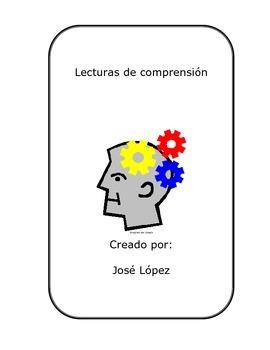 Lecturas de comprensión en español.