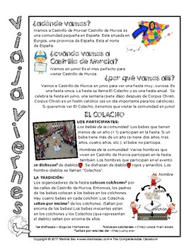 Lecturas diarias: Semana 1 - Five readings in Spanish for beginners