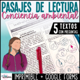 Lecturas informativas Spanish Non Fiction Readings | Conci