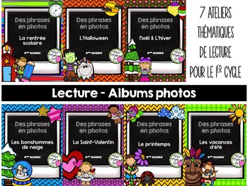 Lecture - Albums photos