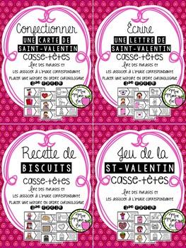 Lecture - Casse-têtes St-Valentin
