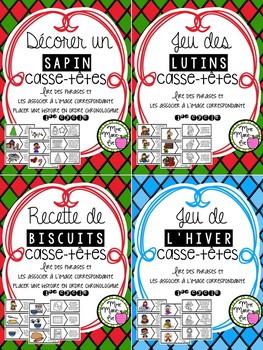 Lecture - Casse-têtes hiver Noël (Winter Christmas)