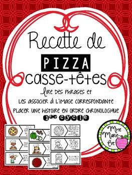Lecture - Casse-têtes pizza