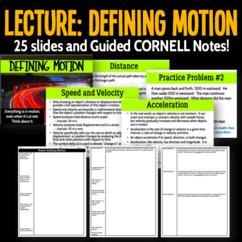 Lecture: Defining Motion
