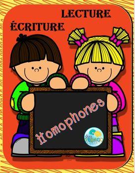 Lecture Écriture Homphones