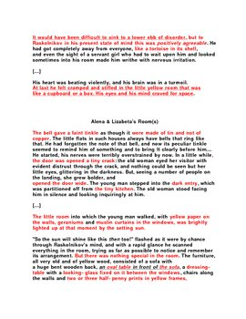 Lecture Guide / Student Worksheet for Crime and Punishment