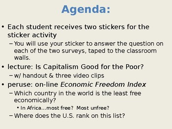 Lecture: Is capitalism good for the poor?