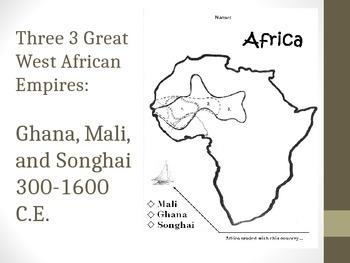 Presentation on Great West African Empires: Ghana, Mali, Songhai