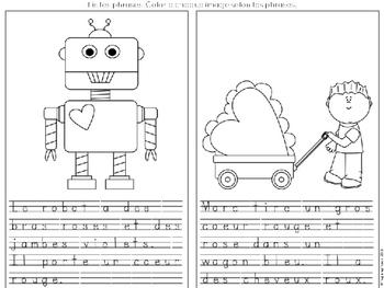 Lecture Simple Saint Valentin-Coupe, Colle, Lis et Ecris//Valentine's Reading