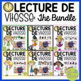 Lecture de vitesse - BUNDLE (FRENCH Speed Reading Fluency Practice) - EDITABLE