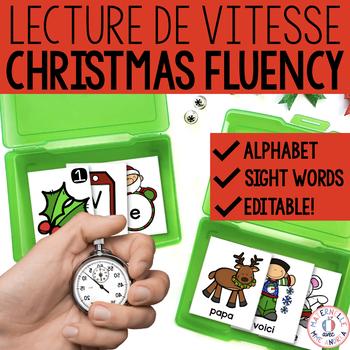 Lecture de vitesse - Noël (FRENCH Christmas Fluency Practi