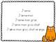 """Lecture des phrases simples (version """"J'aime"""")"""