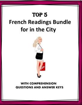 Lectures en Français: French Mini Reading Bundle: Around Town: La Ville