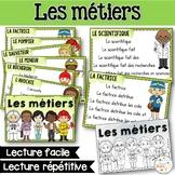 Fluidité en lecture - Les métiers - French Reader on community helpers