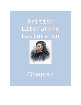 Lecture on Chaucer
