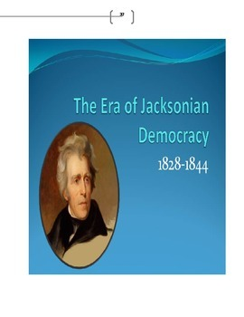 Lecture on Jacksonian Democracy