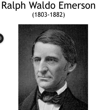 For Students, An Audio-Visual Lecture on Ralph Waldo Emerson