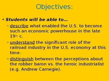 Lecture: the Gilded Age in the U.S.