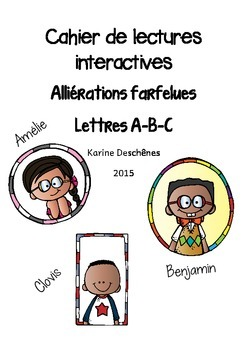 Lectures interactives-Allitérations farfelues ABC