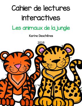 Lectures interactives-Les animaux de la jungle