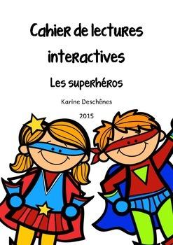 Lectures interactives- Les superhéros
