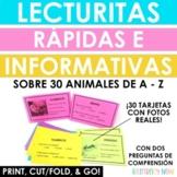 Lecturitas Cortas e Informativas de Animales A-Z - Animal