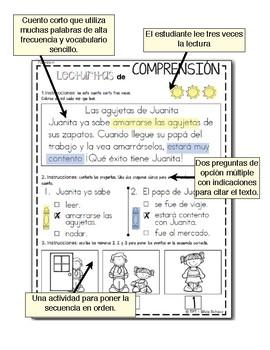 Lecturitas de comprensión para principiantes - Verano