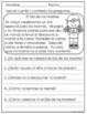 Short Reading Comprehension Passages in Spanish MAY