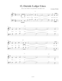 Ledger Line Song, Student Edition