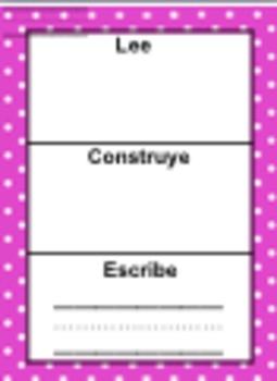 Lee, Construye, y Escribe (Editable)