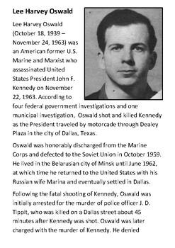 Lee Harvey Oswald Handout