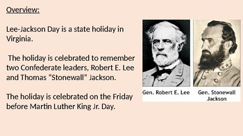 Best Lee–Jackson Day Celebration 2020