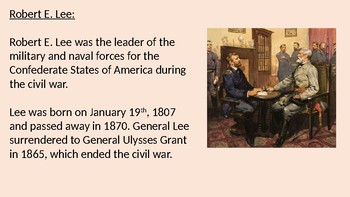 Lee Jackson Day - Virginia Holiday Power Point facts information history